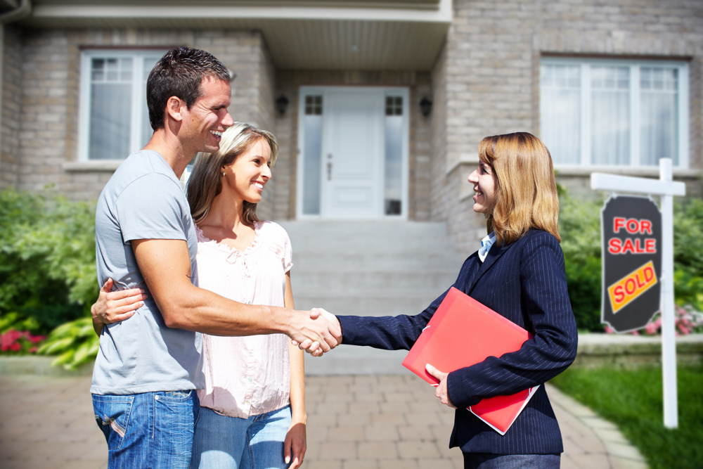 Realtor Shaking Hands